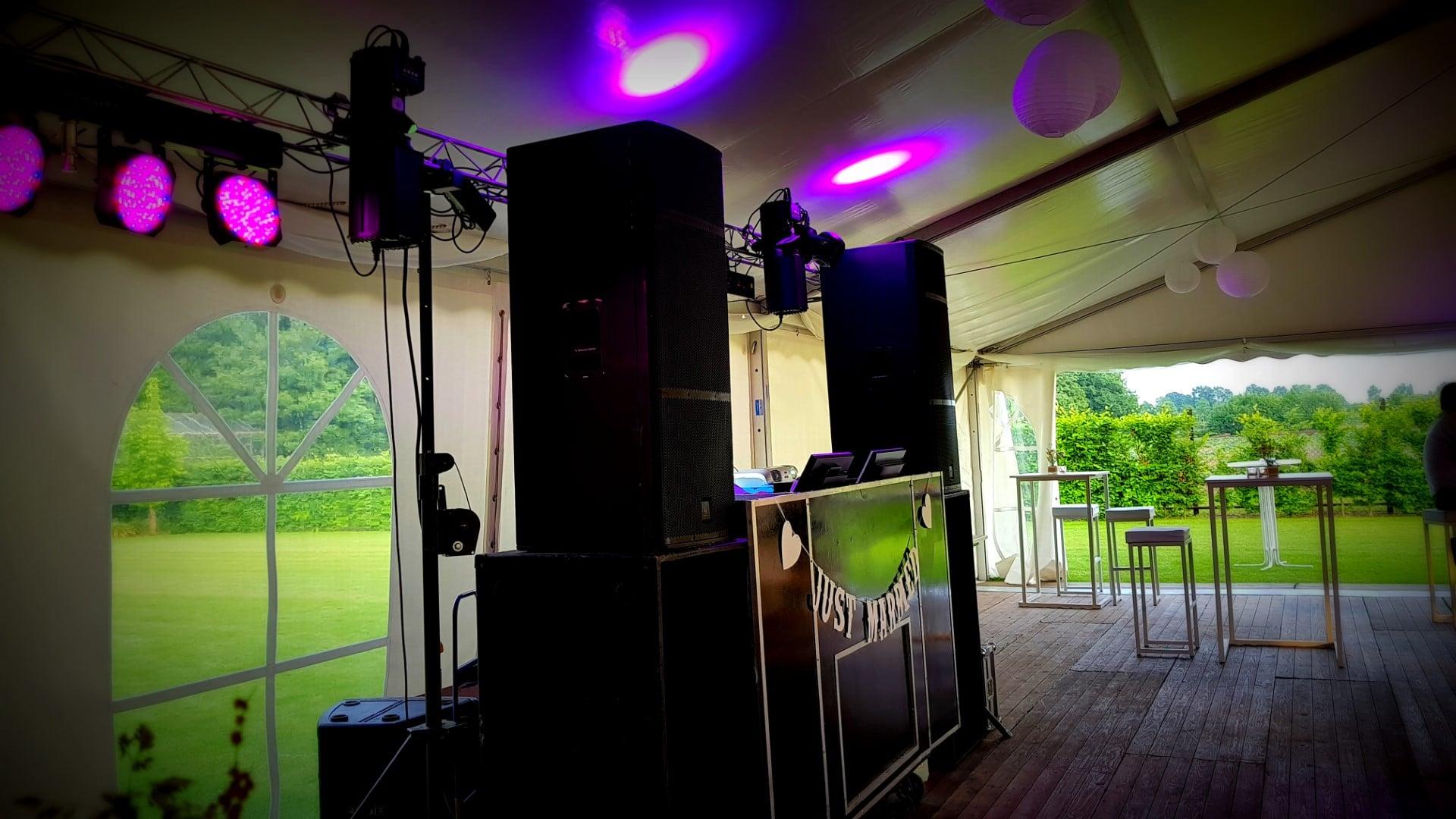 Deejay's in Venlo regio Limburg voor feesten en disco