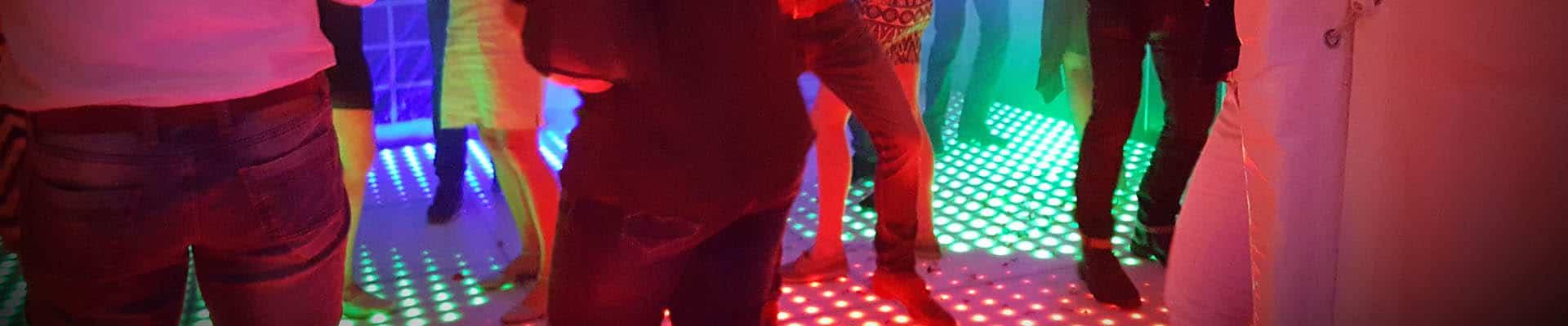 led dansvloer bij feest dj venlo